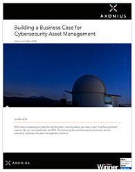 Building A Business Case for Cybersecurity Asset Management
