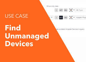 Find Unmanaged Devices