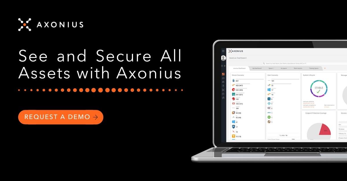Axonius Cybersecurity Asset Management Platform Demo