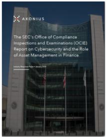 SEC OCIE Report Cybersecurity & Resiliency