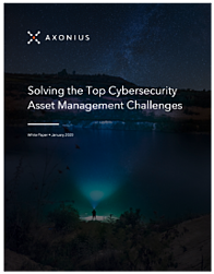 Solving Cybersecurity Asset Management Challenges