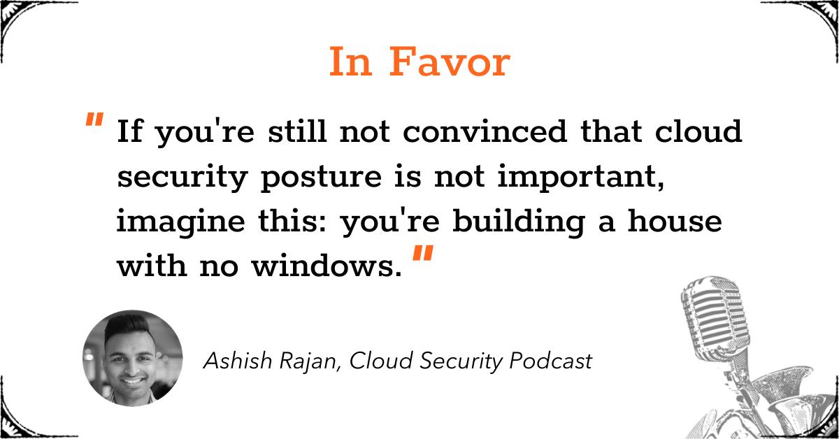 TGD Cloud Security Posture - In Favor - Ashish