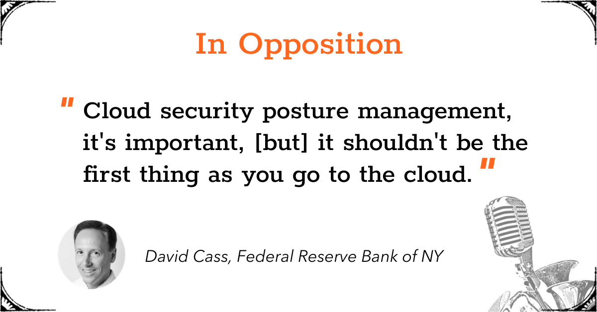 TGD Cloud Security Posture - In Opposition - David