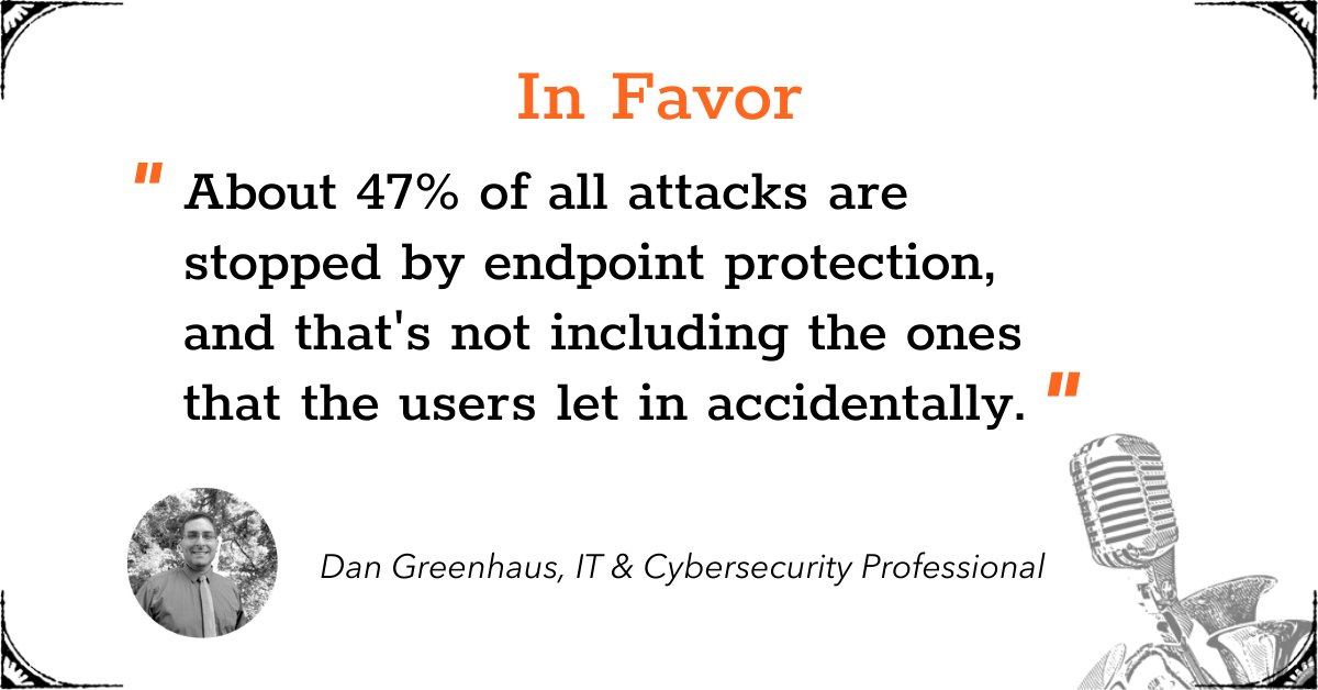 TGD Endpoint Protection - In Favor - Dan
