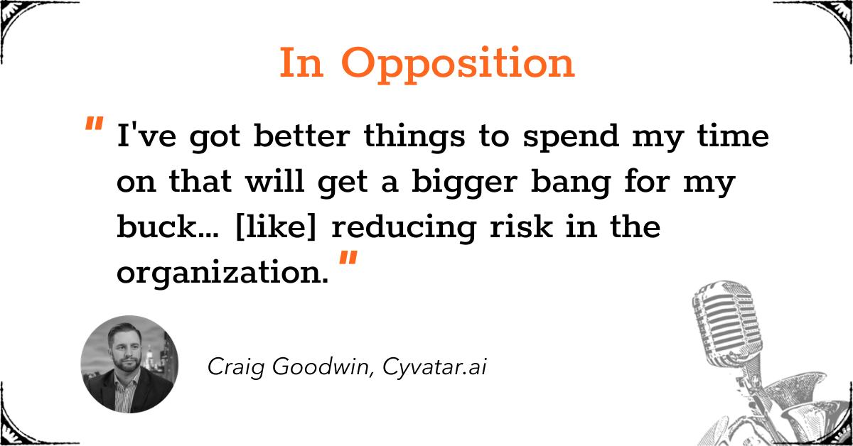 TGD Zero Trust - In Opposition - Craig